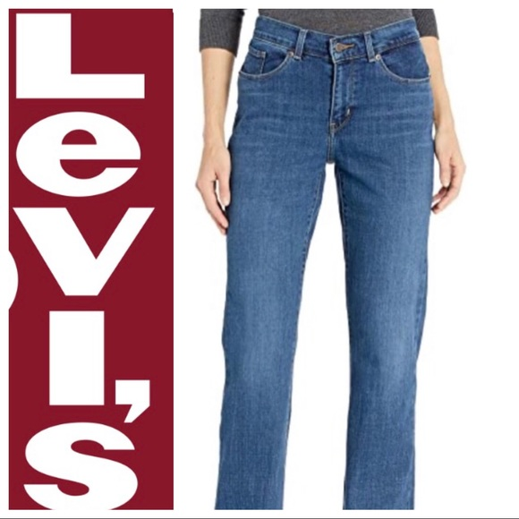 Levi S Jeans Levis Relaxed Fit Medium Wash 550 Boot Cut Poshmark